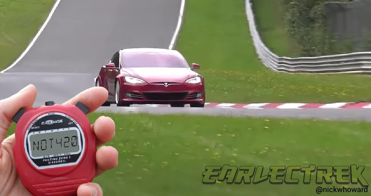 Musk reconsidering Gigafactory 4 in Germany after learning Model S Nürburgring track time was not 4:20