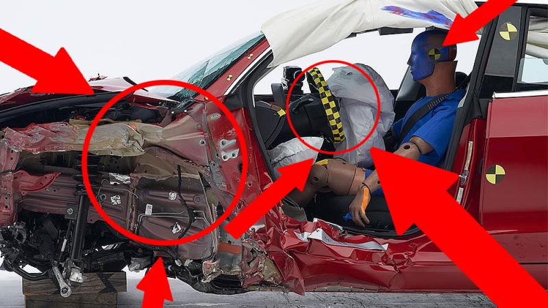 Model 3 safest car ever, entire car industry shutting down