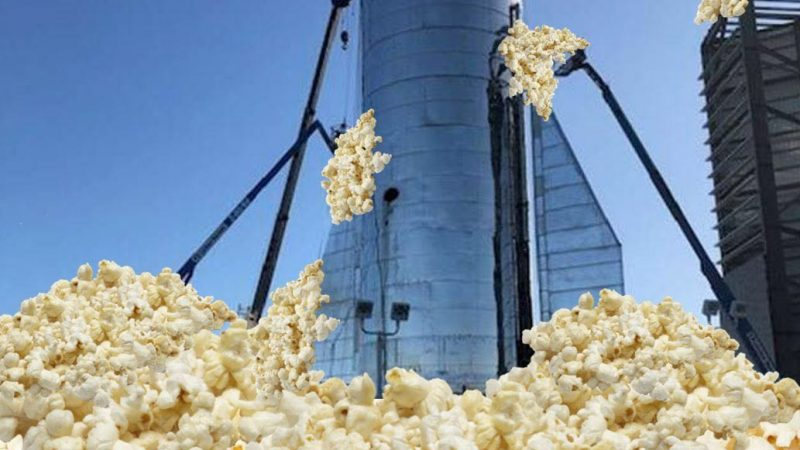 Town Recovering after Incident  Involving Corn and Rocket Engines