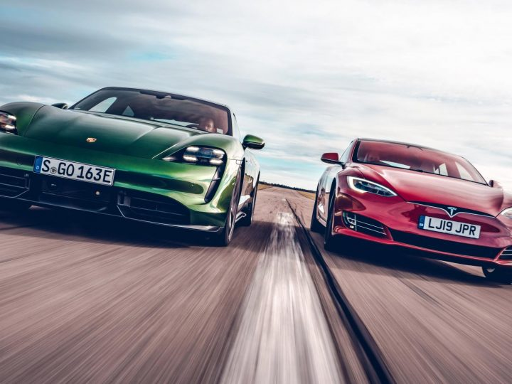 Top Gear Retracts Porsche Taycan vs. Tesla Model S Drag Race Results