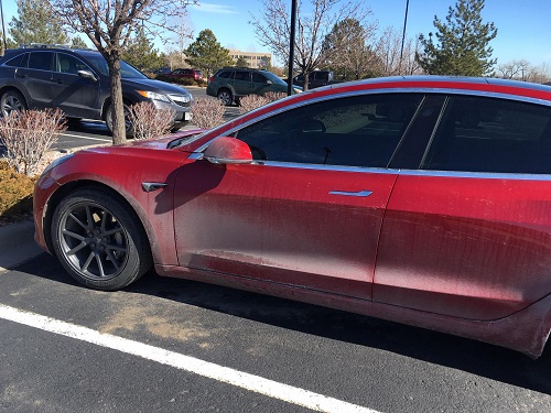 New Colors for Tesla